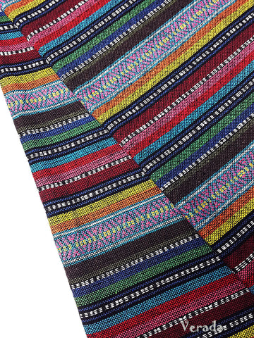 thai woven fabric tribal fabric cotton native fabric by the yard ethnic fabric aztec fabric craft supplies woven textile 1 2 yard wf87