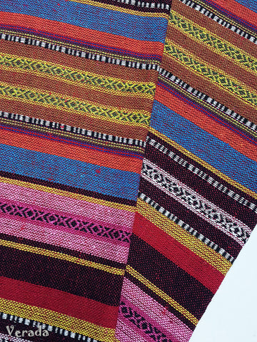 thai woven fabric tribal fabric cotton native fabric by 1 2 yard ethnic fabric aztec fabric craft supplies woven textile 1 2 yard wf88