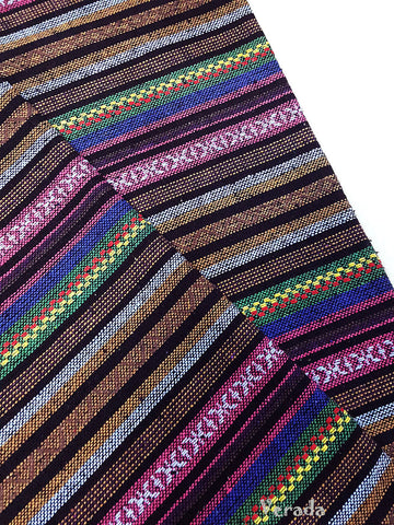 thai woven fabric tribal fabric native fabric by the yard ethnic fabric aztec fabric craft supplies woven textile 1 2 yard wf94