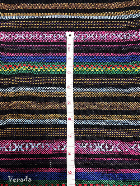 Thai Tribal Native Woven Fabric Textile 1/2 yard (WF94), VeradaCraft, HaremPantsThai