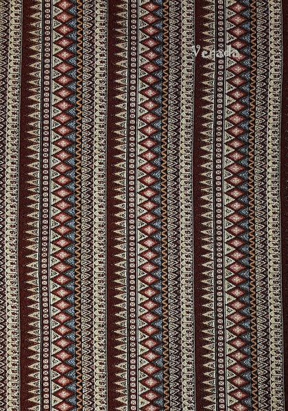 Thai Tribal Native Woven Fabric Textile 1/2 yard Brown (WF99), VeradaCraft, HaremPantsThai