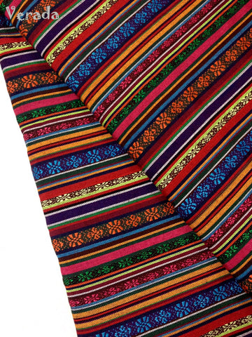 Thai woven fabric Tribal fabric naTive coTTon fabric by The yard eThnic fabric azTec fabric crafT supplies woven TexTile 1 2 yard FF6