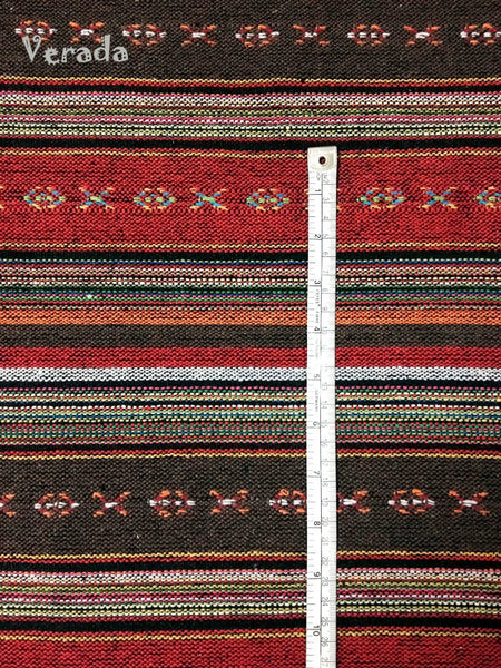 Thai Woven Cotton Tribal Fabric Textile 1/2 yard (WF38), VeradaCraft, HaremPantsThai