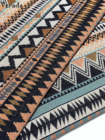 thai woven fabric tribal fabric native cotton fabric by the yard ethnic fabric craft fabric craft supplies woven textile 1 2 yard wf106