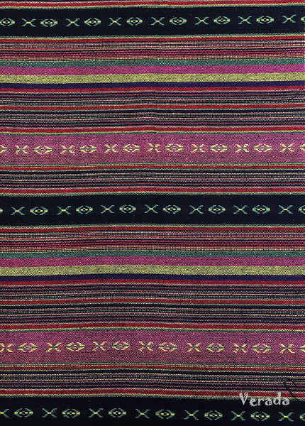 Thai Woven Cotton Tribal Fabric Textile 1/2 yard (WF108), VeradaCraft, HaremPantsThai