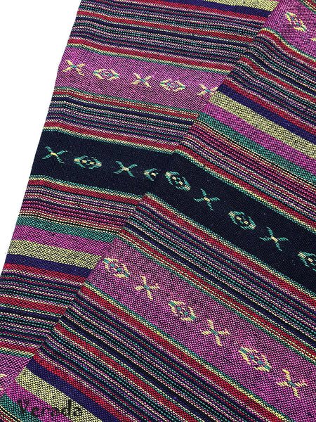 thai woven cotton fabric tribal fabric native fabric by the yard ethnic fabric aztec fabric craft supplies woven textile 1 2 yard wf108