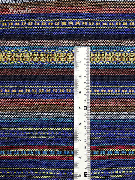 Thai Woven Cotton Tribal Fabric Textile 1/2 yard (WF57), VeradaCraft, HaremPantsThai
