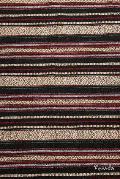 Thai Woven Cotton Tribal Fabric Textile 1/2 yard (WF111), VeradaCraft, HaremPantsThai