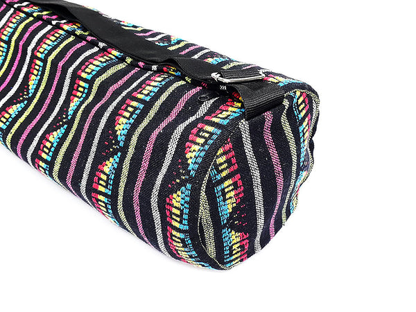 Thai Handmade Woven Yoga Mat Bag Sports Bags Pilates Mat Bag (L-WF5), VeradaShop, HaremPantsThai