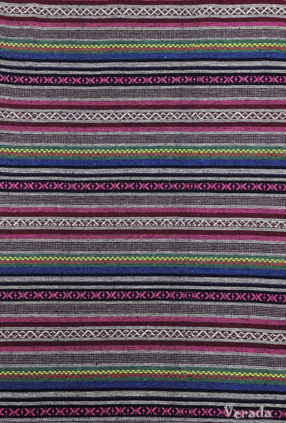 Thai Woven Cotton Tribal Fabric Textile 1/2 yard (WF117), VeradaCraft, HaremPantsThai