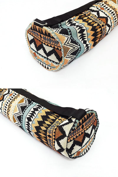 Thai Handmade Woven Yoga Mat Bag Sports Bags Pilates Mat Bag (L-WF106), VeradaShop, HaremPantsThai