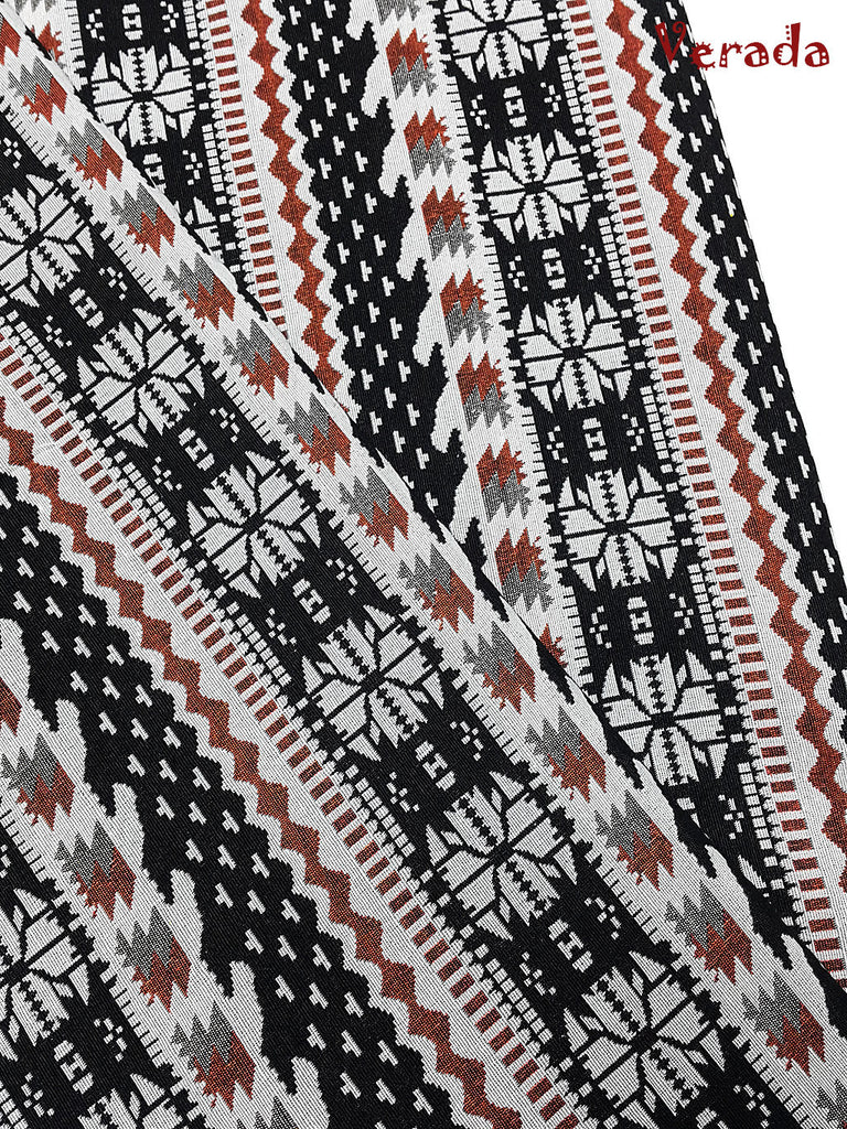 thai woven fabric tribal fabric native cotton fabric by the yard ethnic fabric craft fabric craft supplies woven textile 1 2 yard wf125