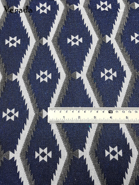 Thai Woven Cotton Tribal Fabric  Supplies 1/2 yard Indigo Blue (WF139), VeradaCraft, HaremPantsThai