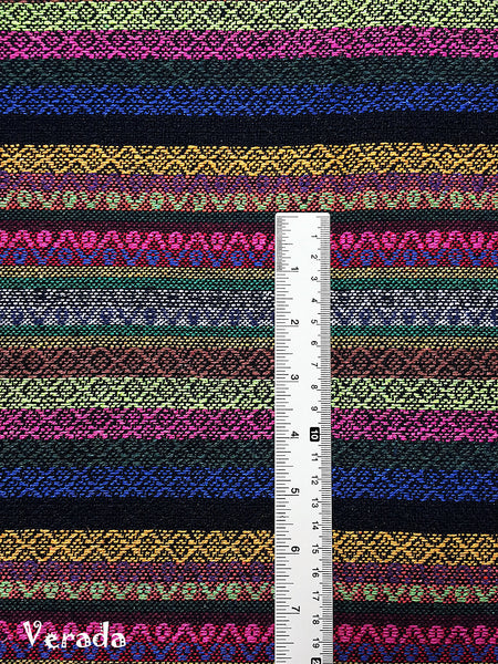 Woven Cotton Tribal Fabric Textile 1/2 yard (WF145), VeradaCraft, HaremPantsThai