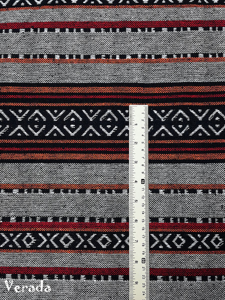 Thai Woven Cotton Tribal Fabric Textile 1/2 yard (WF147), VeradaCraft, HaremPantsThai