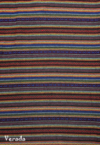Thai Woven Cotton Tribal Fabric Textile 1/2 yard (WF149), VeradaCraft, HaremPantsThai