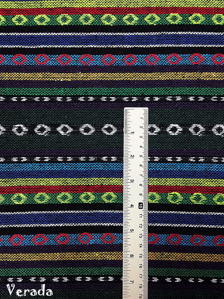Thai Woven Cotton Tribal Fabric Textile 1/2 yard (WF150), VeradaCraft, HaremPantsThai