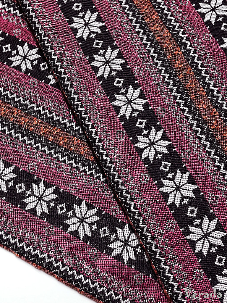 thai woven cotton fabric tribal fabric native fabric by the yard ethnic fabric aztec fabric craft supplies woven textile 1 2 yard wf122