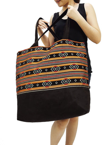 TWB5 - Woven Bag Cotton Tote Bag Shoulder Bag Market Bag Shopping Bag Women Bag