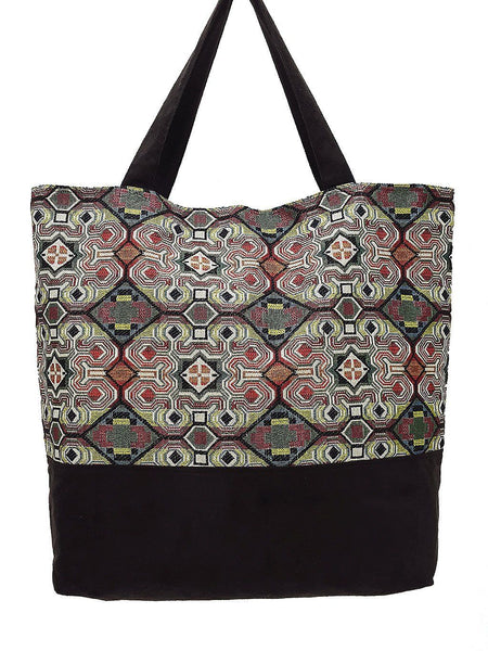 TWB13 - Woven Bag Cotton Tote Bag Shoulder Bag Market Bag Shopping Bag Women Bag
