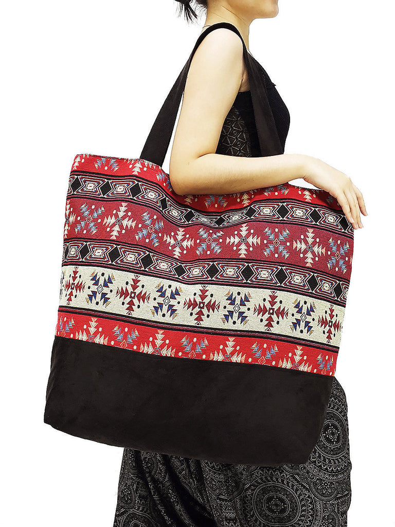 TWB12 - Woven Bag Cotton Tote Bag Shoulder Bag Market Bag Shopping Bag Women Bag