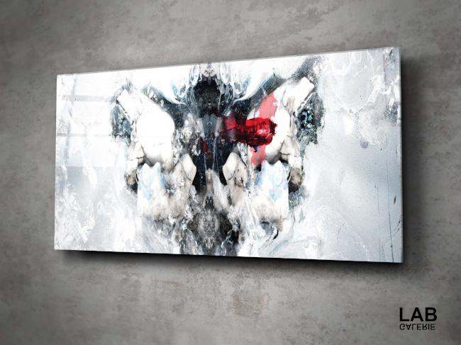 Luc Langlois - Cryogenic Rorschach - Acrylique Glacé - Clear Acrylic - Live Art Business - LAB