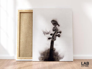 Spazuk - Duetto - Impression sur toile - Canvas Prints - - Live Art Business - LAB