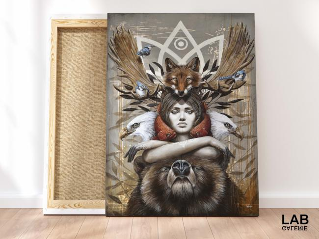 Sophie Wilkins - Kwanita - Impressions sur Toile - Canvas Prints - - Live Art Business - LAB