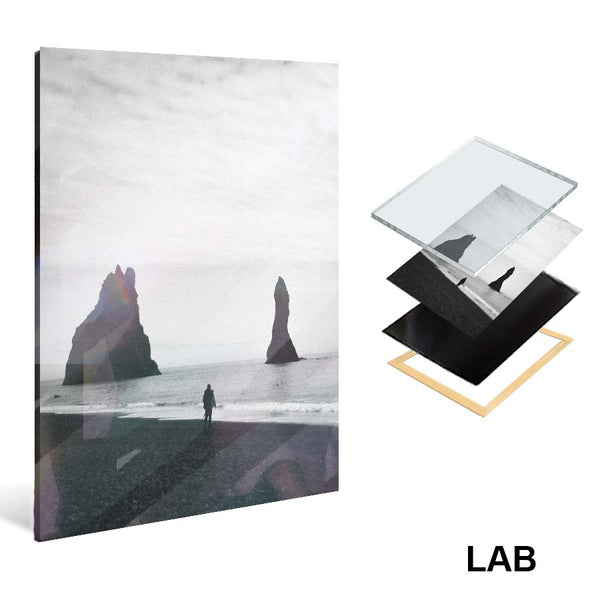 AEFORIA - Reynisfjara - Acrylique Glacé - Clear Acrylic - Live Art Business - LAB