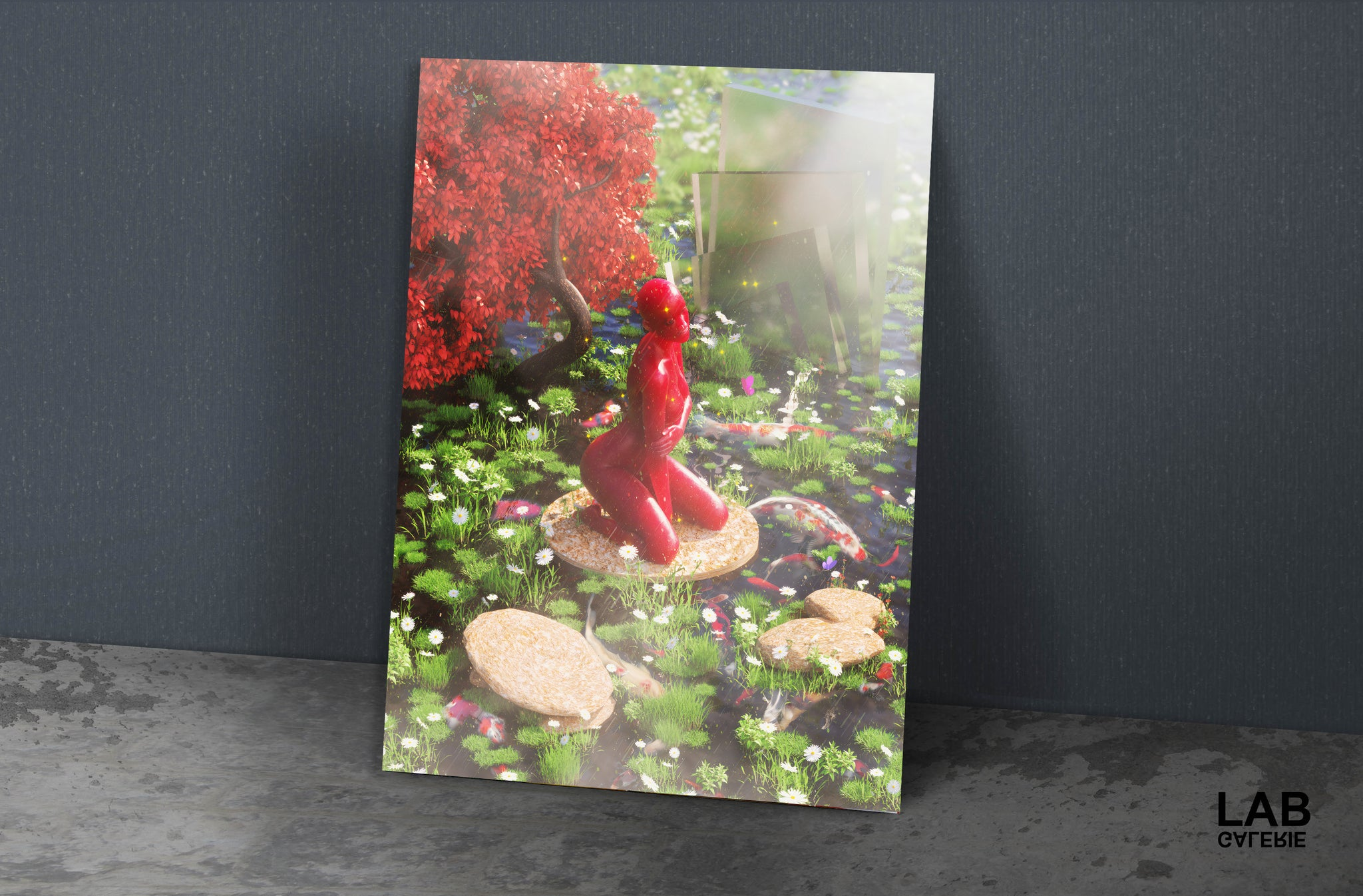 Ezzyland - Siren Lake - Giclée - Quality Support