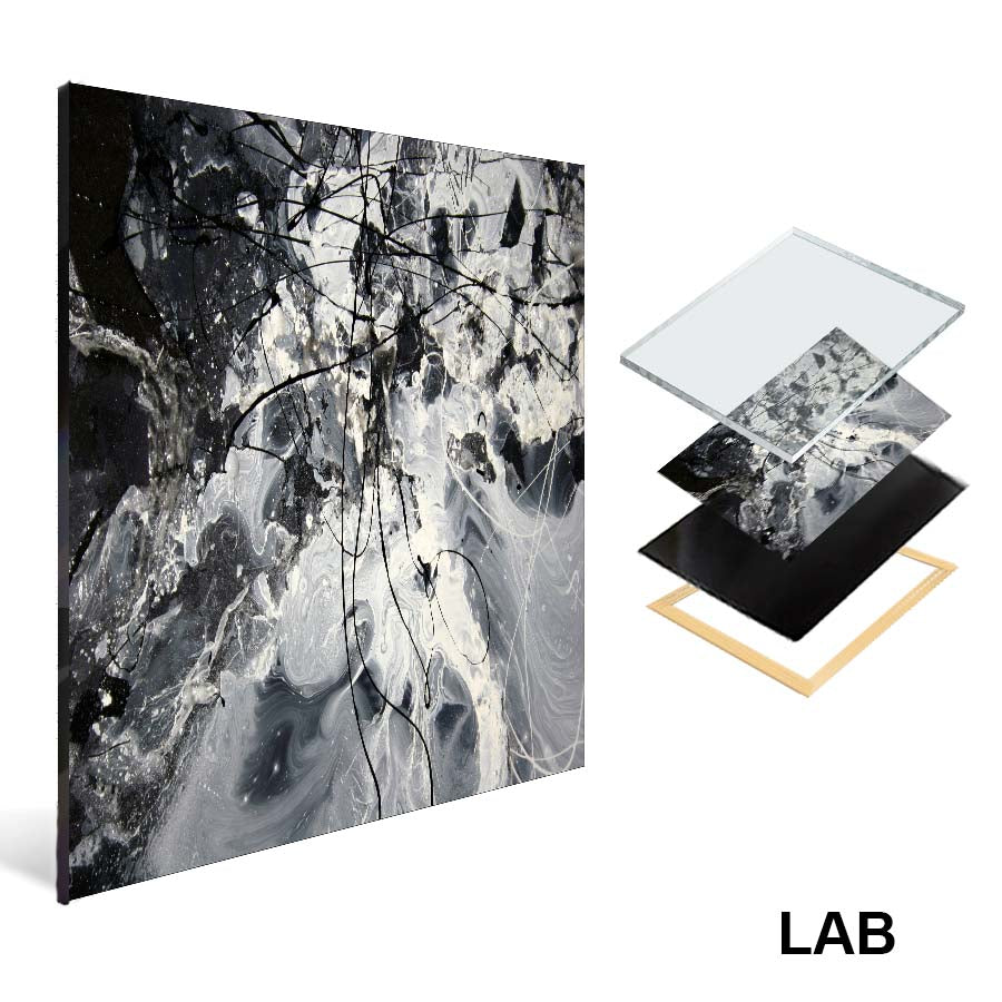 Luc Langlois - Sonomik - Acrylique Glacé - Clear Acrylic - Live Art Business - LAB