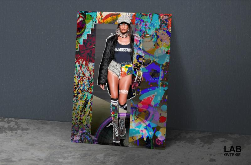 Nuńo - Paparazzi' Blizzard's Bang - Giclée - Quality Support - Live Art Business - LAB