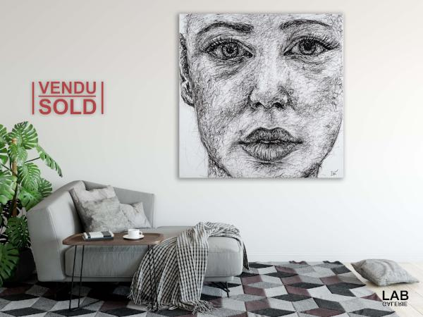 Elfée - Feel - Original - VENDU - SOLD - Live Art Business - LAB