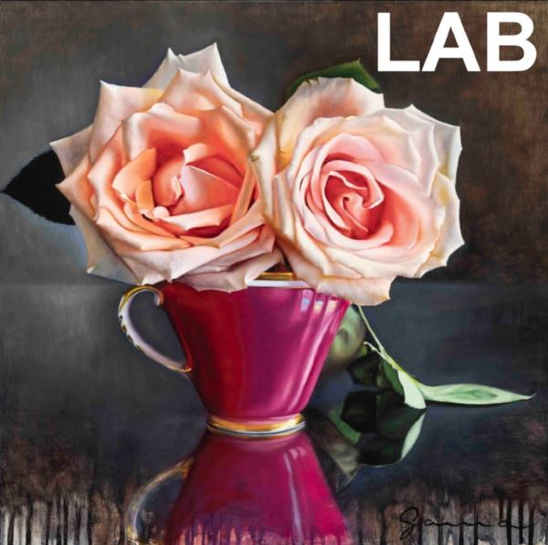 Guy-Anne Massicotte - Tasse Ancienne et Roses VII - Original - Live Art Business - LAB