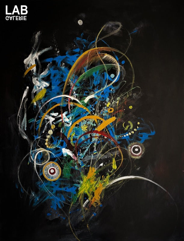 Volkan Çoban - Motion  - Artist - Artworks - Original - Limited Editions - Turkey - Original - for - sale - Limited Editions - Montreal - LAB Estrimont - LAB du Domaine - Art Gallery - Galerie - Art - Estrie - Orford - Thetford Mines - Appalaches