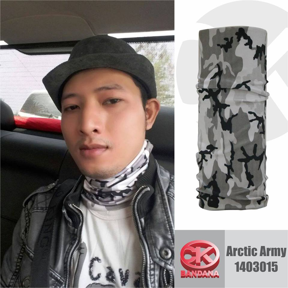 CK Bandana Artic Army 1403015