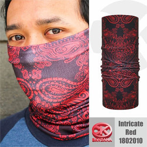 CK Bandana Intricate Red 1802010