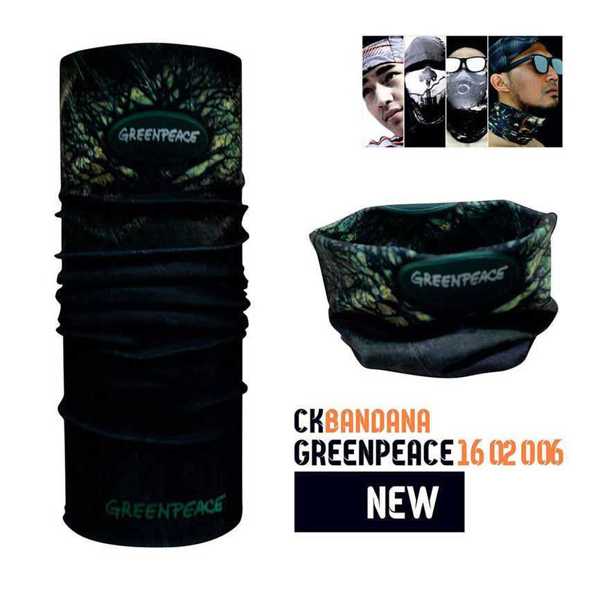 CK Bandana Green Peace 1602006