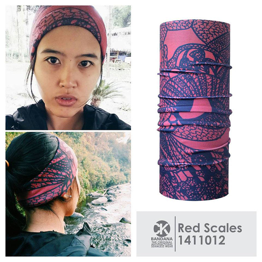 CK Bandana Red Scales 1411012