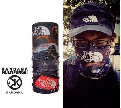 CK Bandana North Face Mountain 1409001