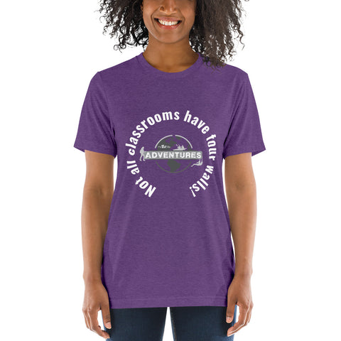 Not all classrooms have four walls! sleeve t-shirt