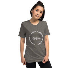 Traveling – it leaves you speechless, then turns you into a storyteller. Short sleeve t-shirt
