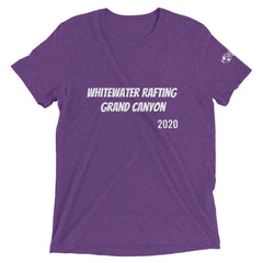 Whitewater Rafting Grand Canyon 2020 Short sleeve t-shirt