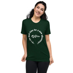 """It's the best time for a new adventure!"" Short sleeve t-shirt"