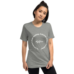"""A wish doesn't change anything. A decision changes everything!"" Short sleeve t-shirt"
