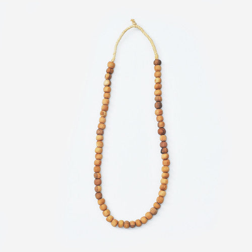 Kahawa Olive Wood Necklace