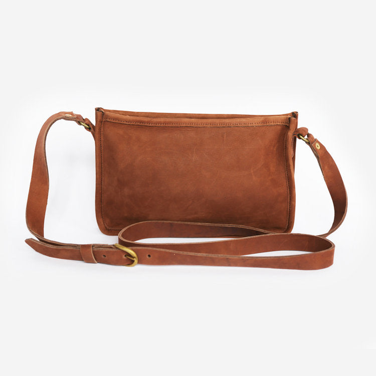 Nubuck Cross Body Bag