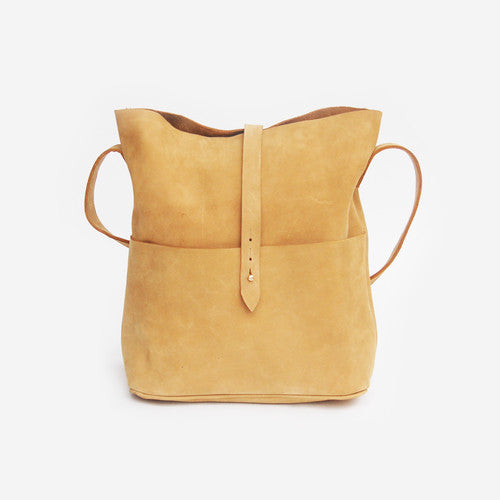 Nubuck Leather Messenger Bag