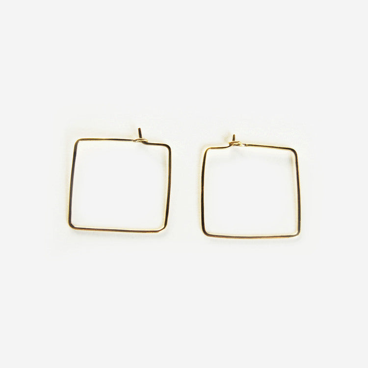 Badu Brass Earrings