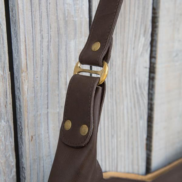 Boho Bag with Buckles